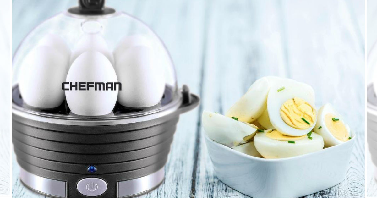 Chefman Electric Egg Cooker ON...