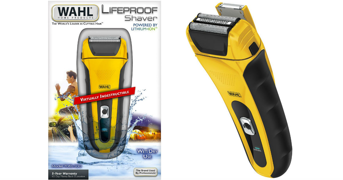 Wahl Electric Shaver ONLY $39.99 Shipped (Reg $60)