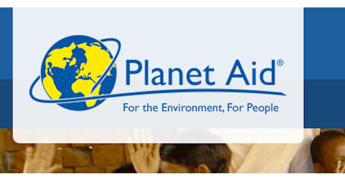 FREE Planet Aid Sticker...