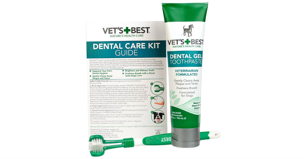 Vet's Best Dog Dental Care on Amazon