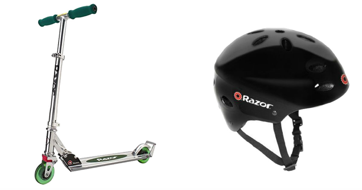 Razor A2 Kick Scooter and Helmet ONLY $22.88 (Reg. $60)