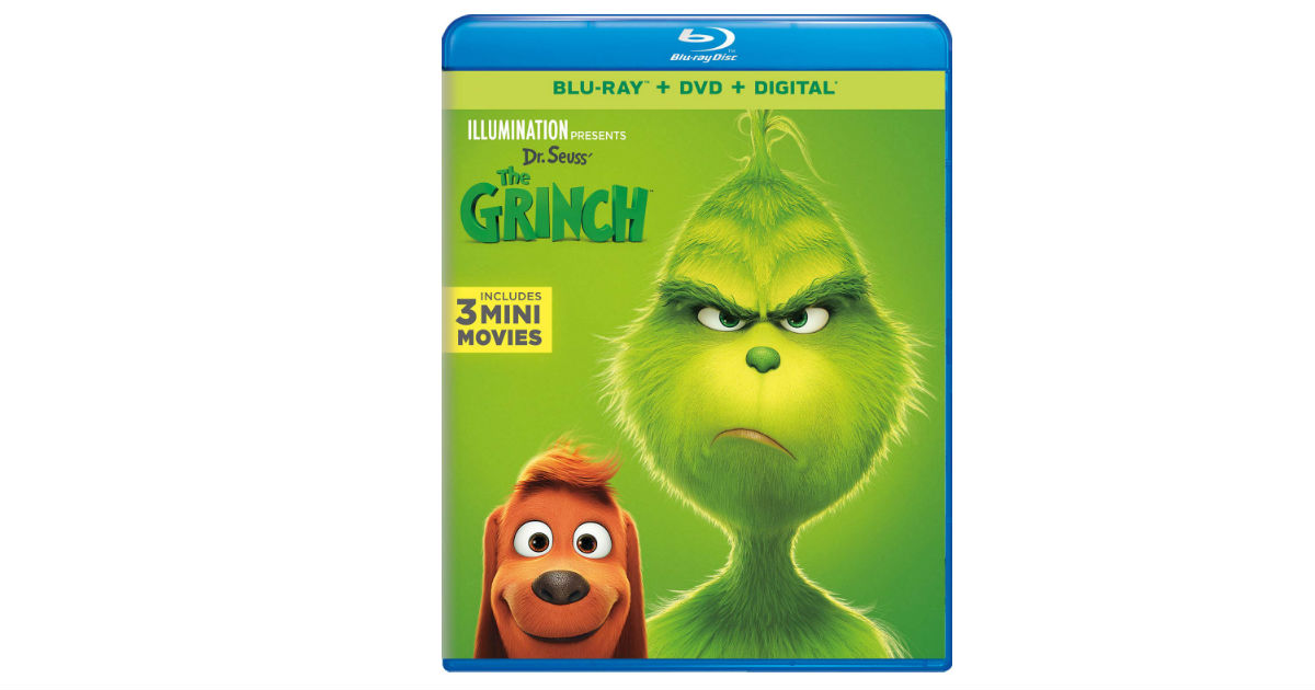 Dr. Suess' The Grinch on Blu-ray ONLLY $11.99 (Reg. $35)