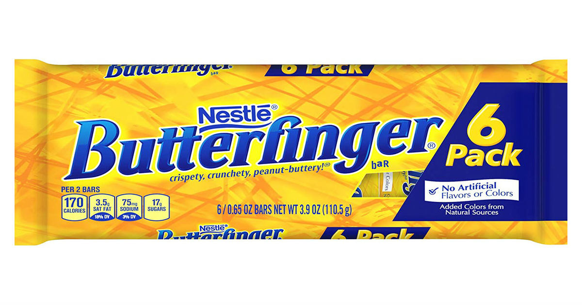Butterfinger at Walmart