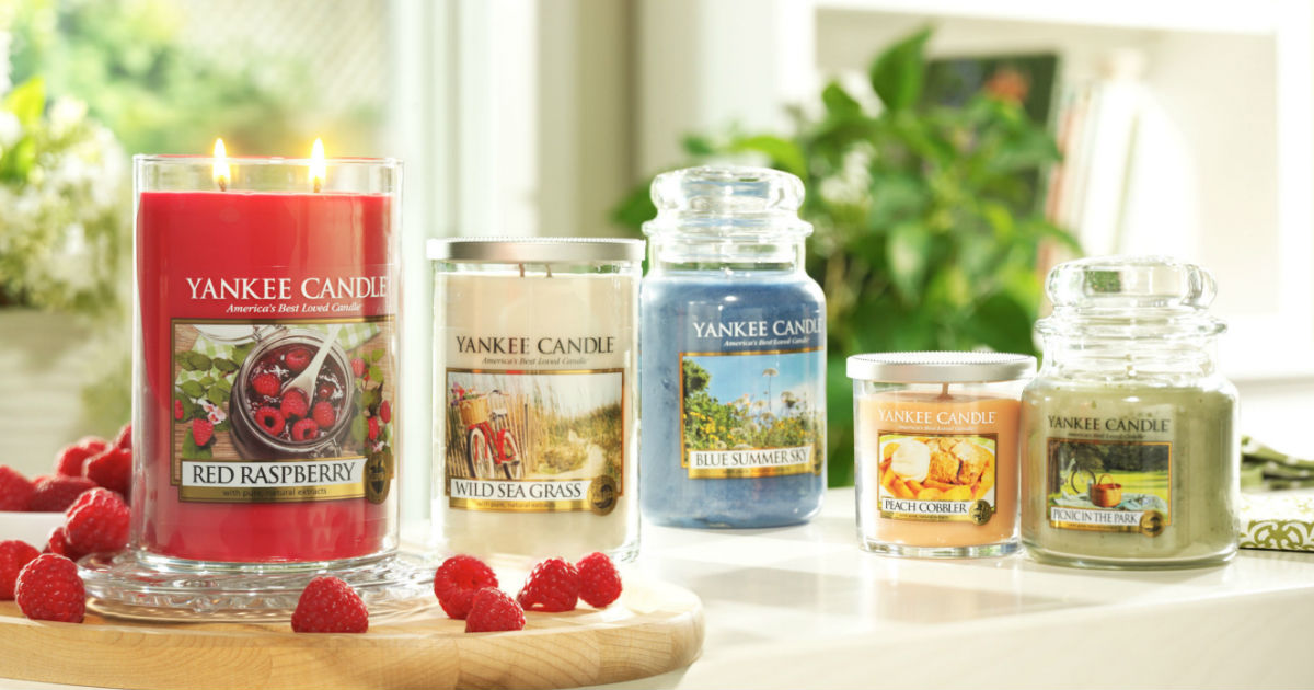 Today Only: Large Jar Yankee Candles ONLY $10 (Reg. $29.50)