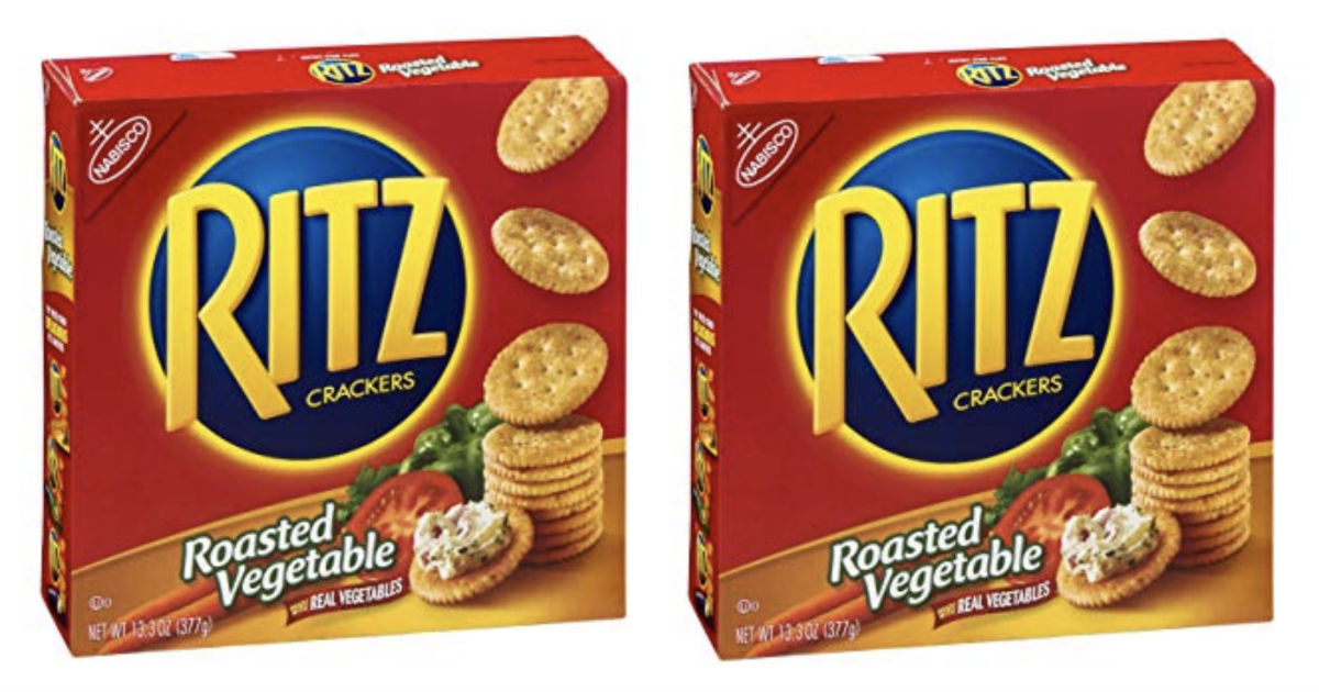 photograph regarding Nabisco Printable Coupons named Nabisco Ritz Crackers Merely $1.25 at Aim - Printable Discount coupons