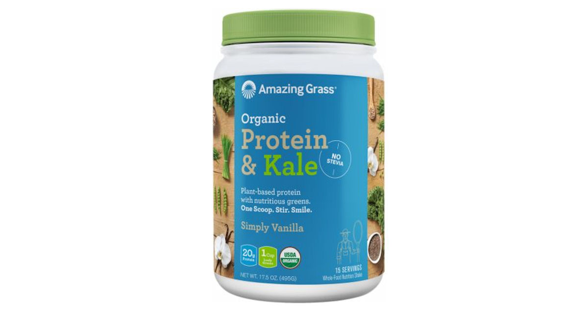 Amazing Grass Organic Protein and Kale