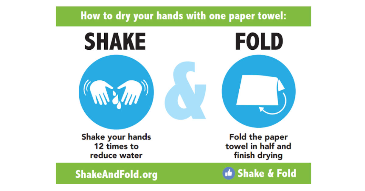 FREE Shake & Fold Stic...