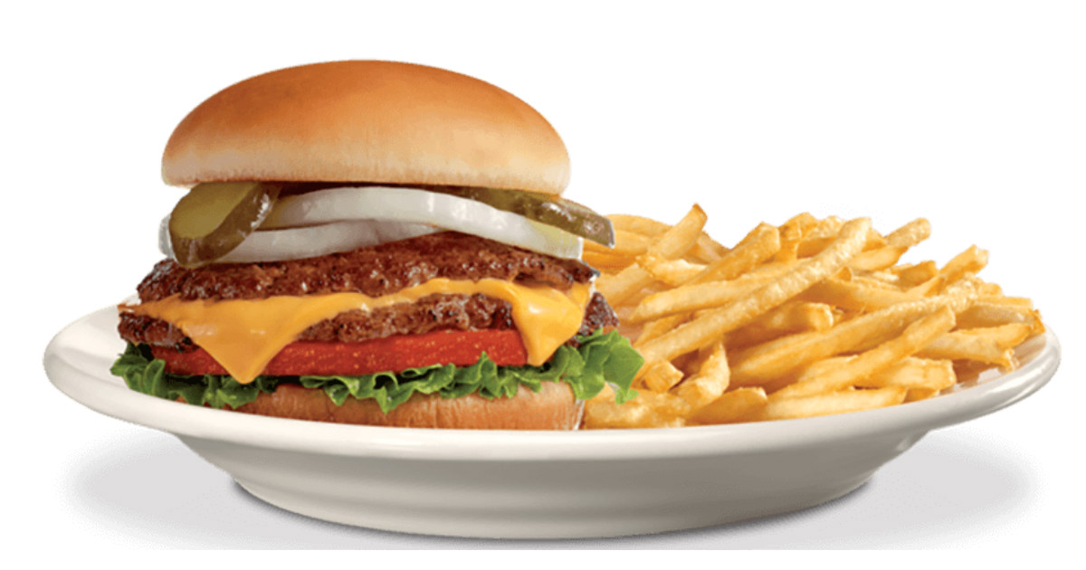 image about Steak and Shake Coupons Printable called Refreshing Steak n Shake Coupon - $1 Off Burger Fries - Printable