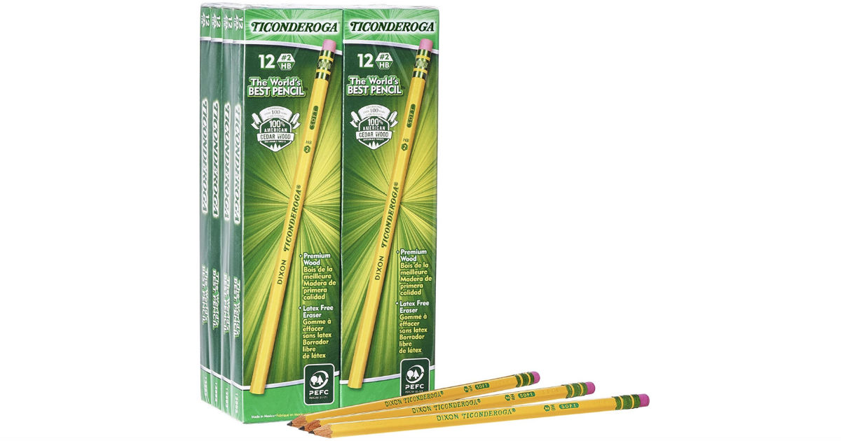 Ticonderoga #2 Pencils 96-Ct Box ONLY $9.95 (Reg $15)