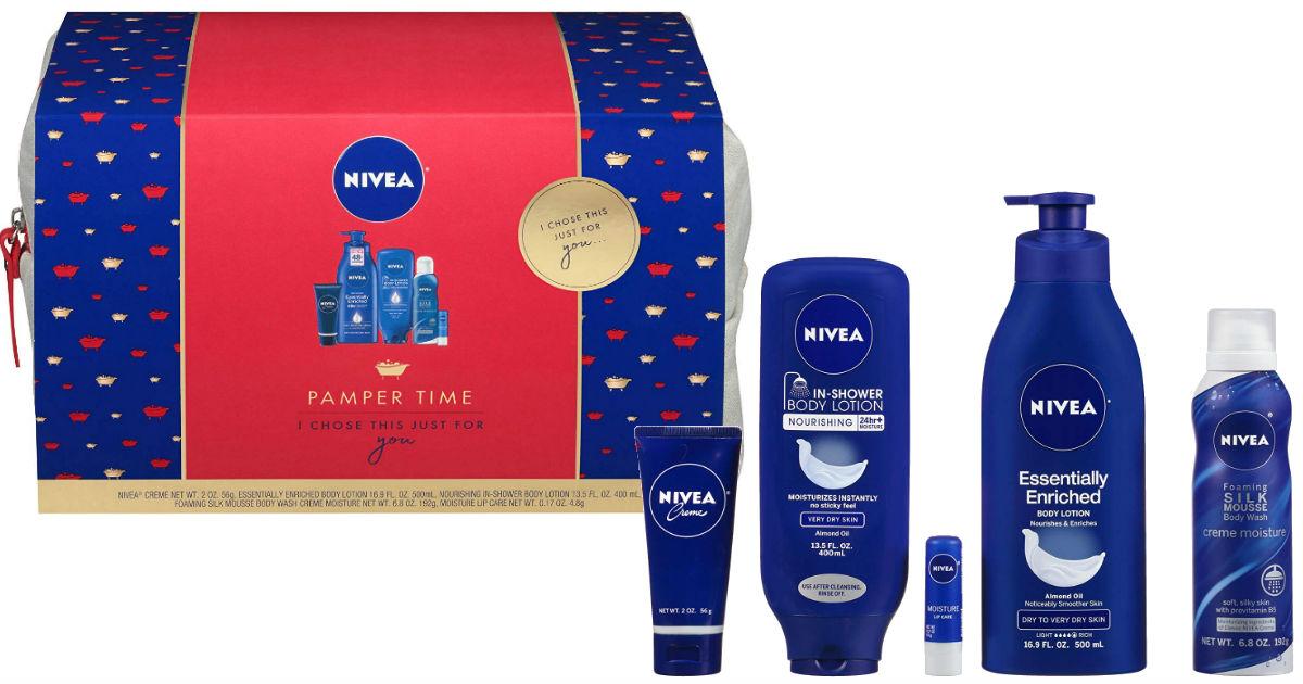 Nivea Pamper Time 5-Pcs Luxury Gift Set ONLY $14.97 (Reg $24.95)