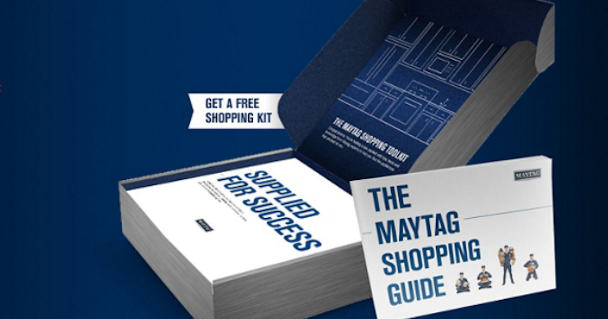 FREE Maytag Shopping Kit with.