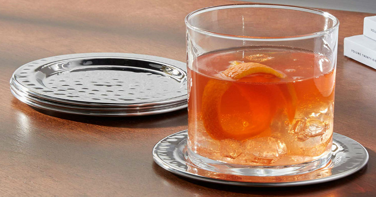 Stainless Steel Coasters ONLY $13.02 (Reg. $26)