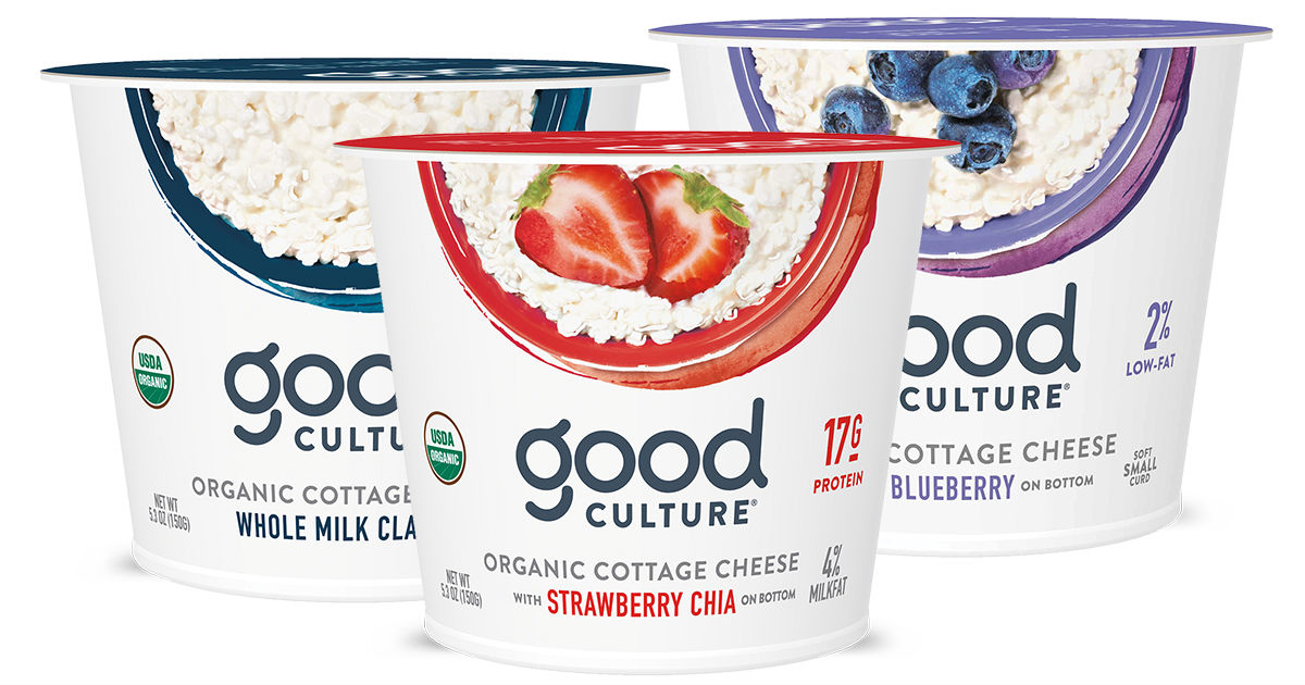 Good Culture Cottage Cheese at Walmart