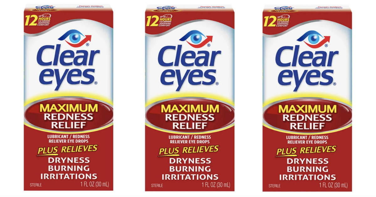 Clear Eyes Drops ONLY $1.59 at Target