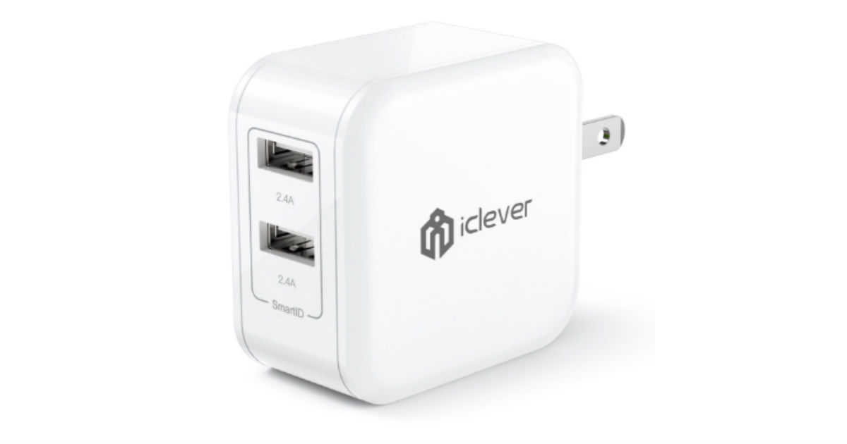 iClever BoostCube Wall Charger ONLY $7.18 (Reg. $25)