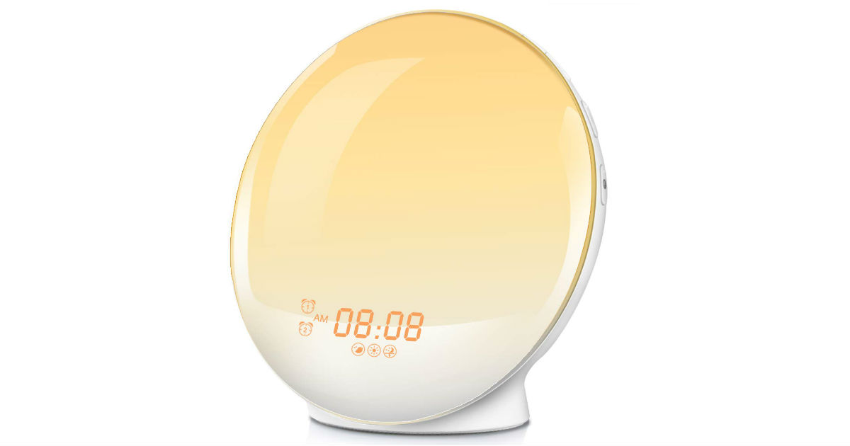 Wake-Up Light Alarm Clock ONLY $29.99 (Reg. $80)
