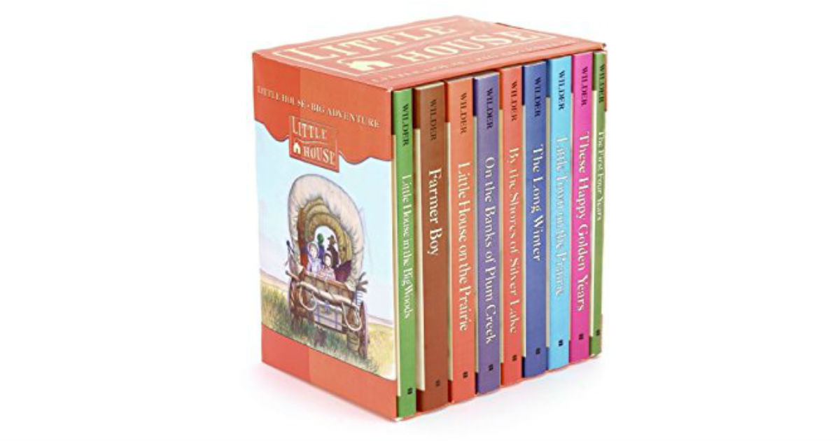 The Little House Box Set ONLY $31.40 (Reg. $72)
