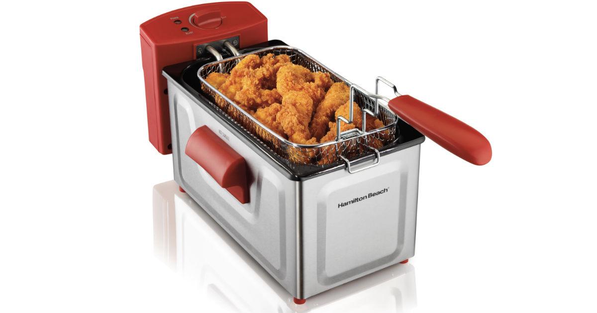 Hamilton Beach Professional Deep Fryer ONLY $20 (Reg $49)