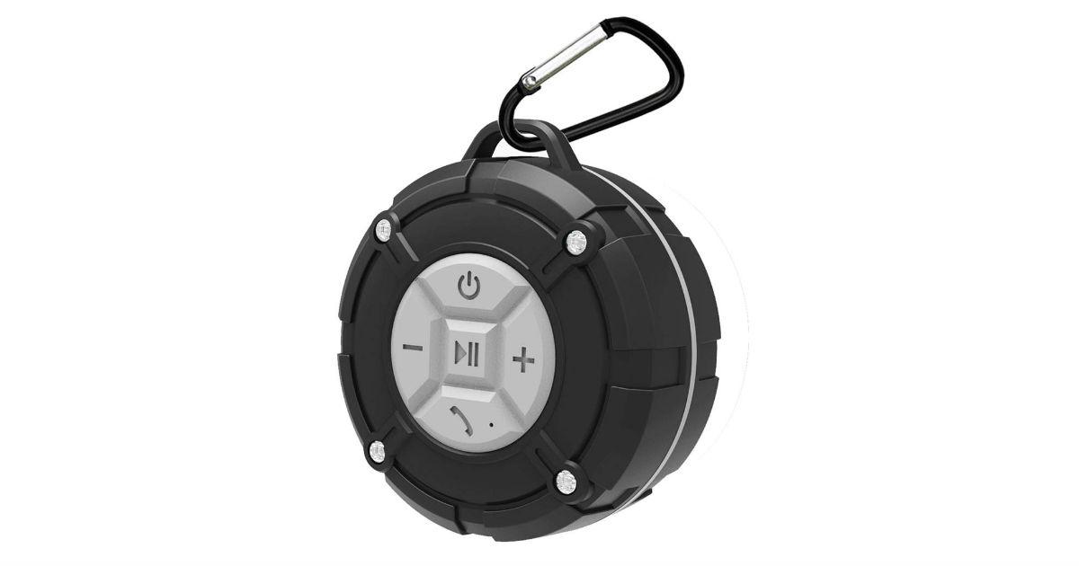 Bluetooth Waterproof Shower Speaker ONLY $14.09 (Reg. $30)