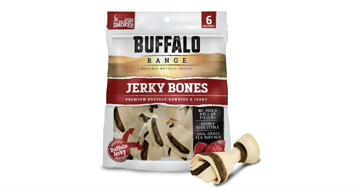 Buffalo Range Rawhide Dog Treats ONLY $6.08 (Reg. $12)