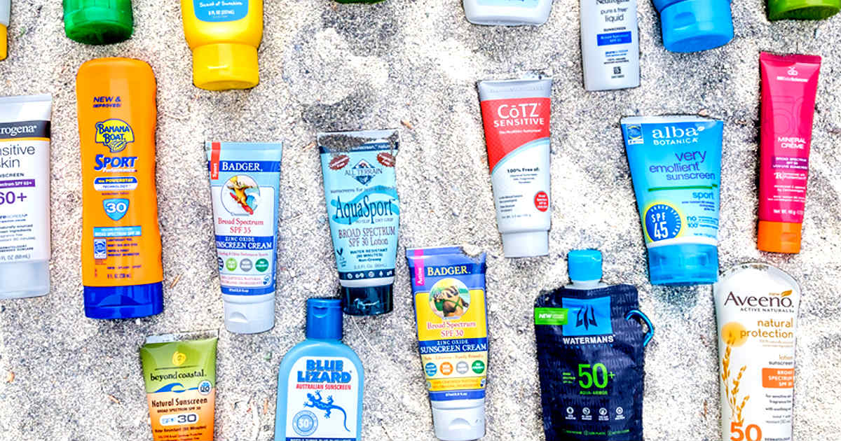New Sunscreen Coupons: Save Over $5.00