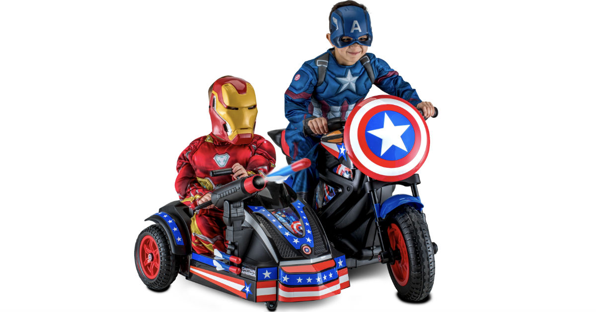 Captain America Motorcycle Ride-On ONLY $179 (Reg $249)