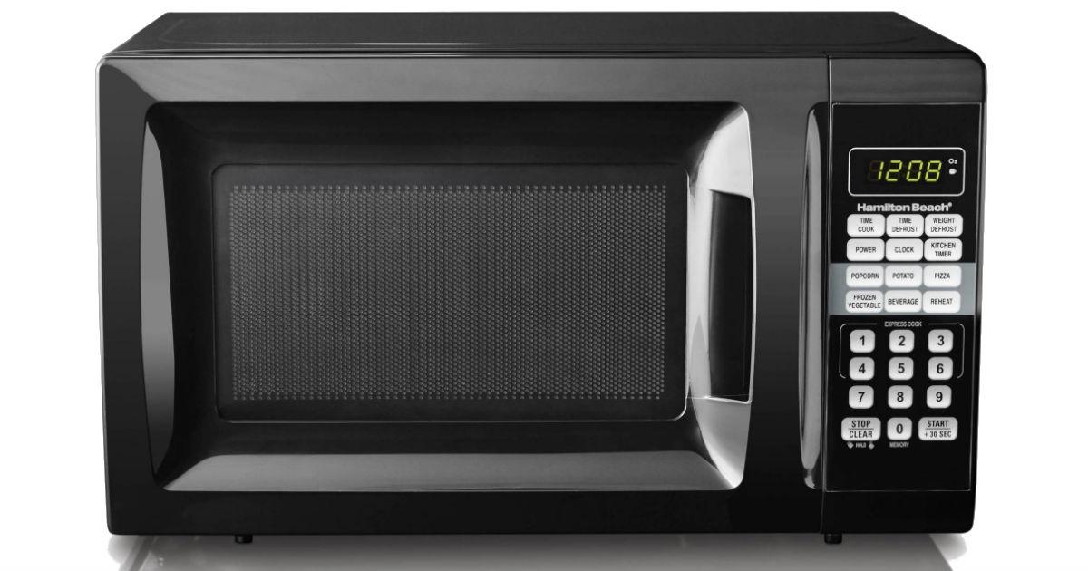 Hamilton Beach Microwave Oven ONLY $45.88 (Reg $54.88)