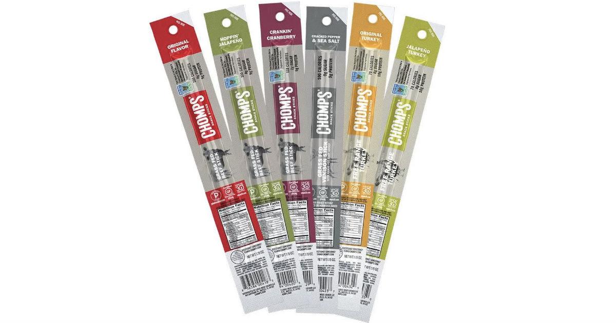 FREE Chomps Snack Sticks at Wa...