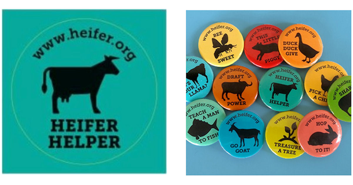 FREE Heifer International Stic...