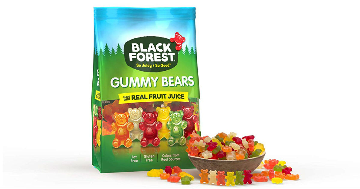 Black Forest Gummy Bears 6-Pounds ONLY $8.82 on Amazon
