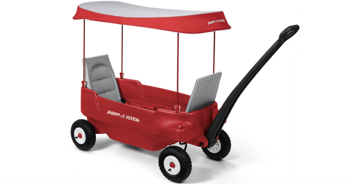 Radio Flyer All-Terrain Wagon w/ Canopy ONLY $99 (Reg $129)