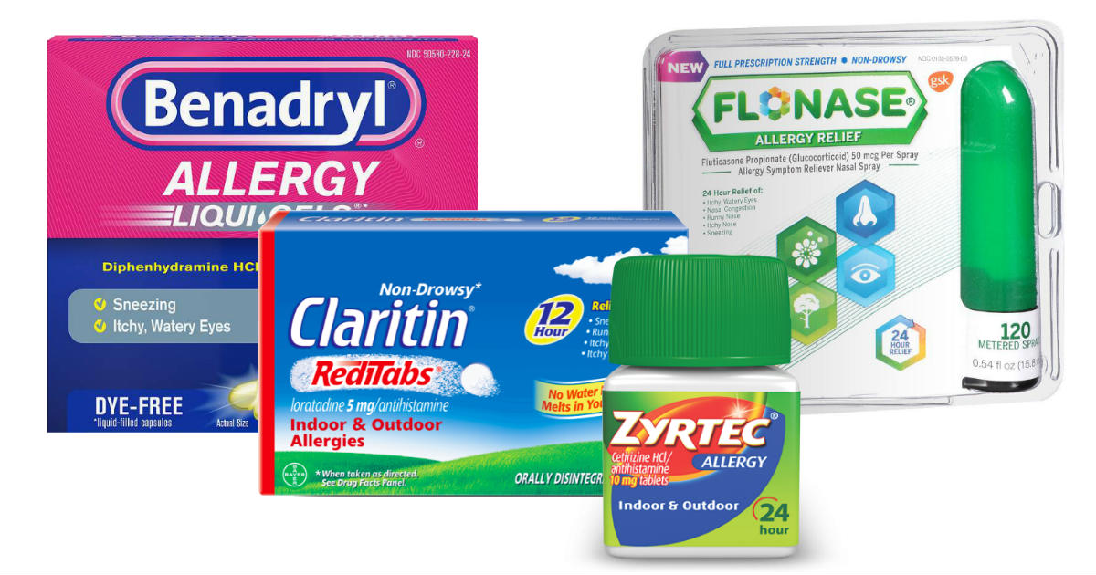 $50 in NEW Allergy Coupons
