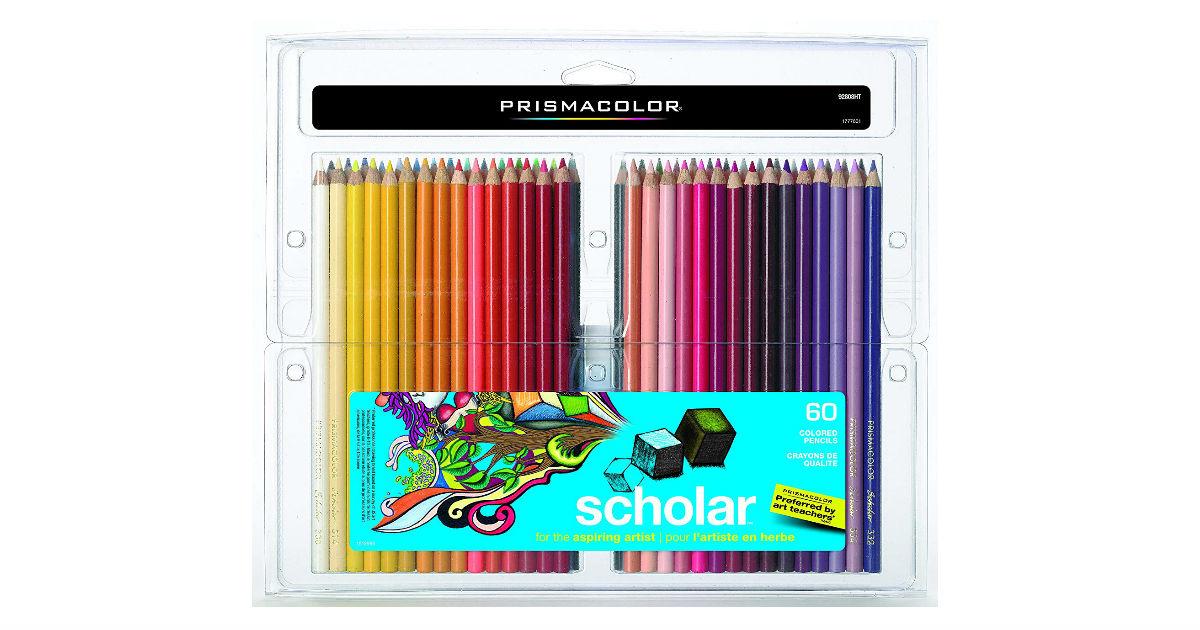 Prismacolor Scholar Colored Pencils ONLY $17.85 (Reg. $45)