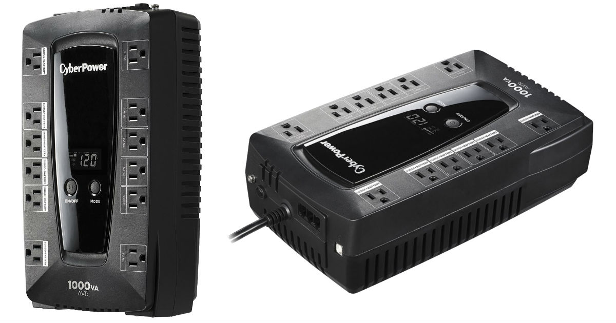 CyberPower 1000VA Battery Back-Up System ONLY $79.99 (Reg $110)