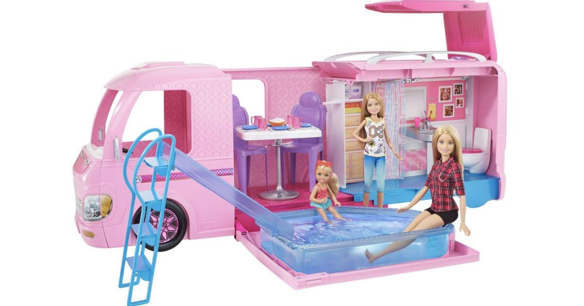 Barbie Dream Camper Play Set ONLY $52.20 (Reg $94)