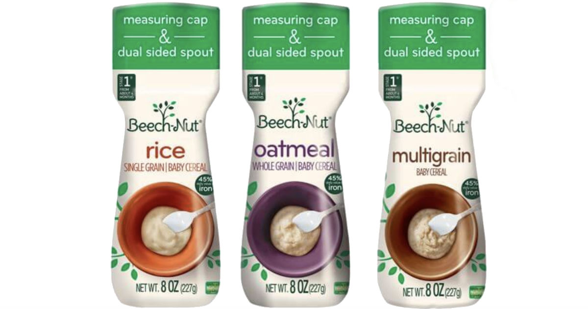 Beech-Nut Baby Foods ONLY $1.38 at Walmart