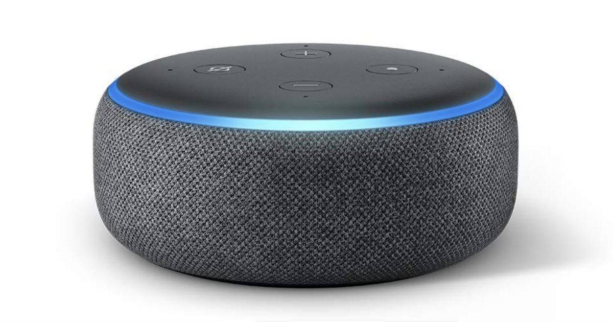 Echo Dot 3rd Gen Smart speaker w/ Alexa ONLY $29.99 (Reg $50)