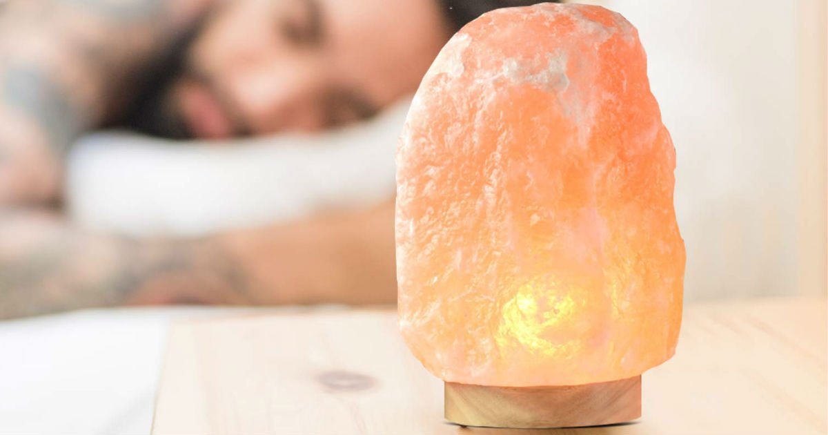Himalayan Glow Salt Lamp ONLY $12.04 (Reg $25)