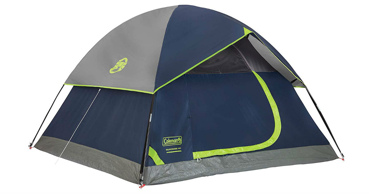 Coleman 4-Person Dome Tent ONLY $49 (Reg. $100)