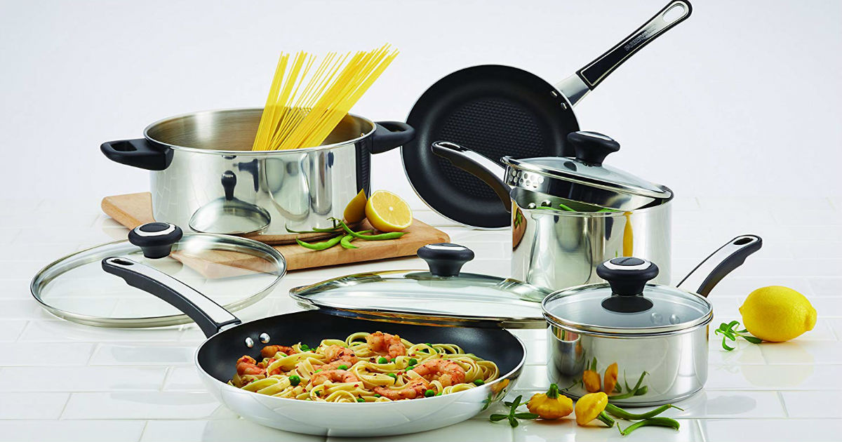 Farberware 12-Piece Cookware S...