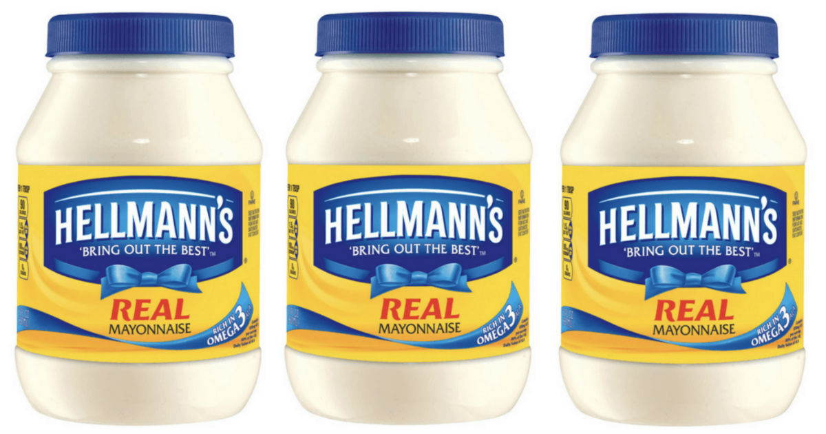 Hellmann's Mayonnaise Jar ONLY $0.50 at Target (Reg $3.59)