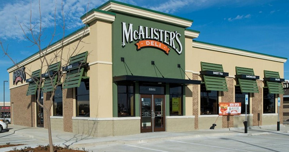 Free Tea for Teachers at McAlister's Deli - Free Product Samples