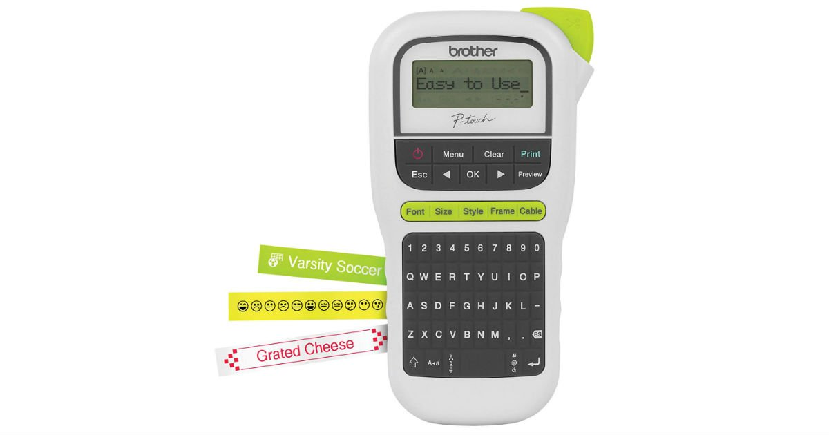 Brother P-Touch PTH110 Label Maker ONLY $14.99 (Reg. $30)