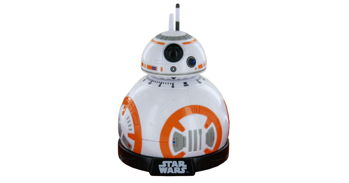 Star Wars BB-8 Kitchen Timer ONLY $13.49 (Reg. $30)