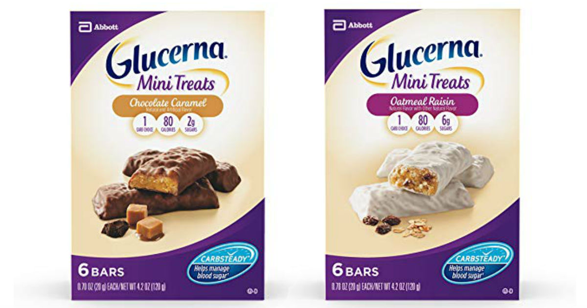 Glucerna Mini Treats Only $0.29 at CVS (Reg. $5.79)
