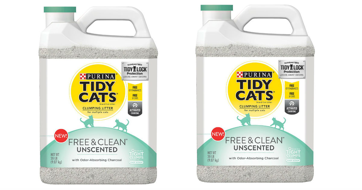 Tidy Cats Free & Clean Cat Litter Only $4.24 at Target (Reg. $9)
