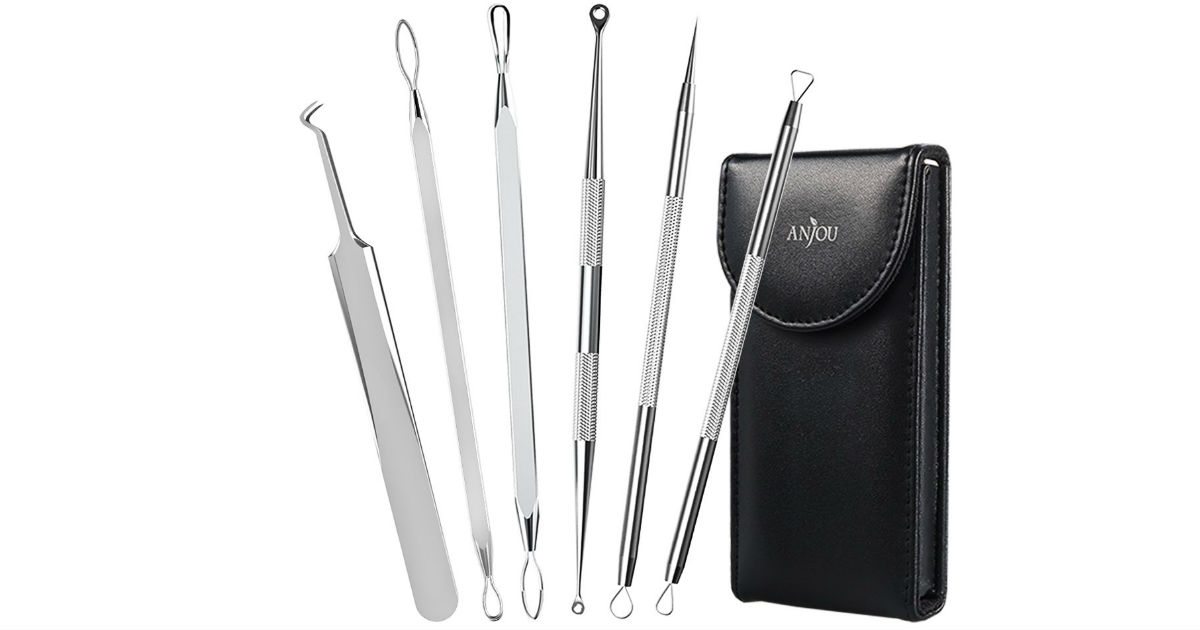 Anjou Blackhead Removal Tool Kit Only $4.99 (Reg $8)
