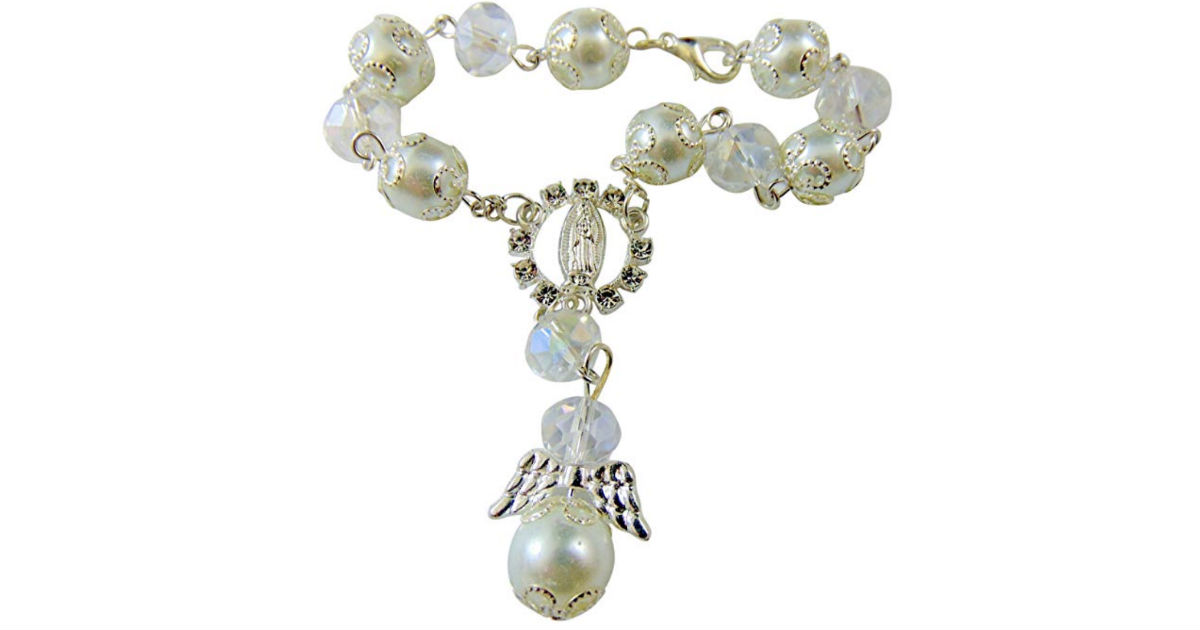 Girl's First Holy Communion Bracelet ONLY $6.95 Shipped