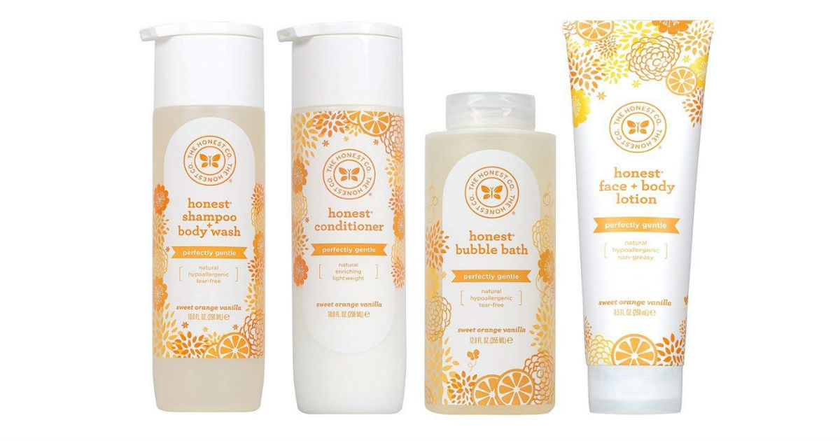 Honest Perfectly Gentle Hypoallergenic Conditioner ONLY $4.64
