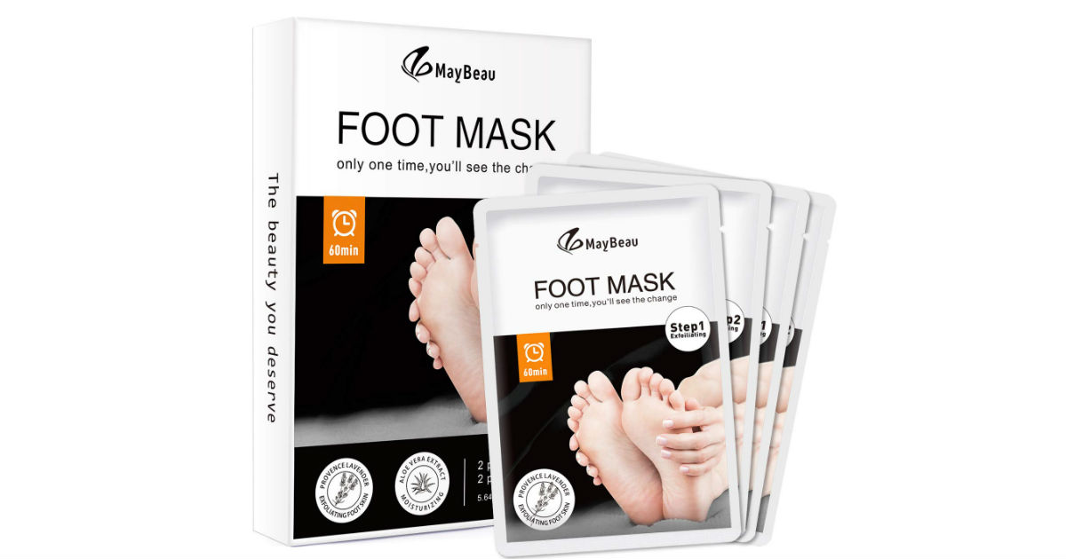 MayBeau Foot Peel Mask ONLY $9.99 (Reg. $20)